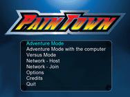 Paintown 3.0 menu