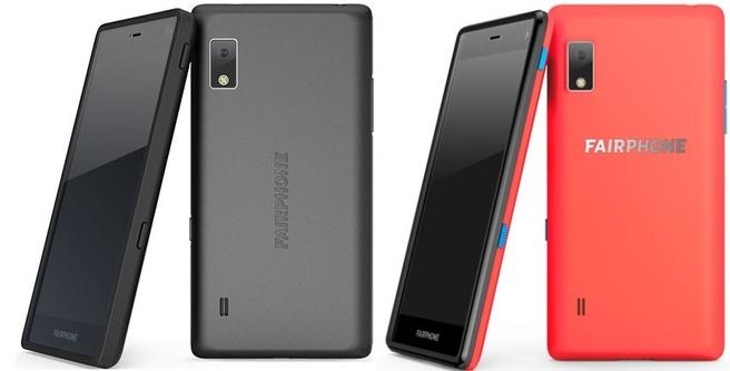 Fairphone met nieuwe achterkant