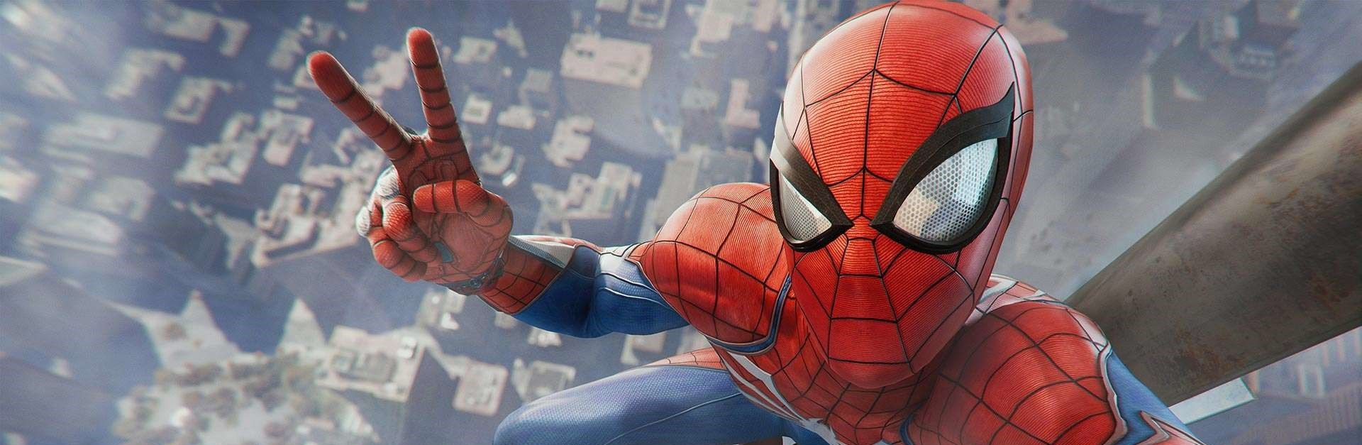Spidey PS4 peace