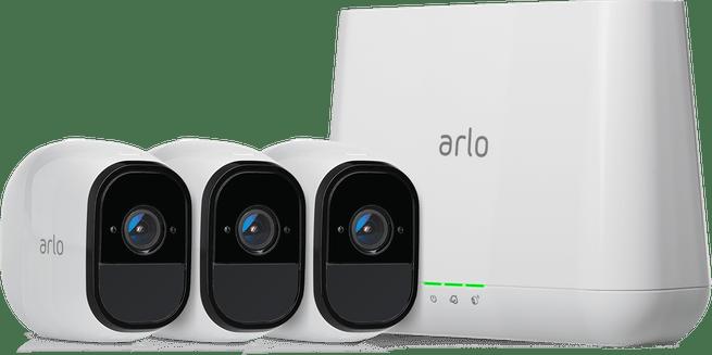 Arlo Pro met 3 camera's