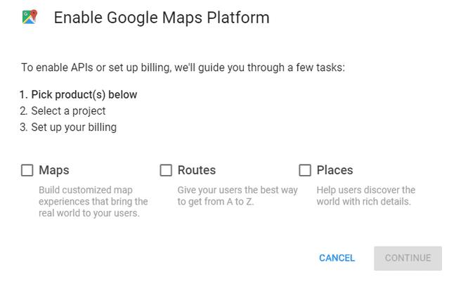 maps platform