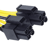 4+4 pins EPS connector