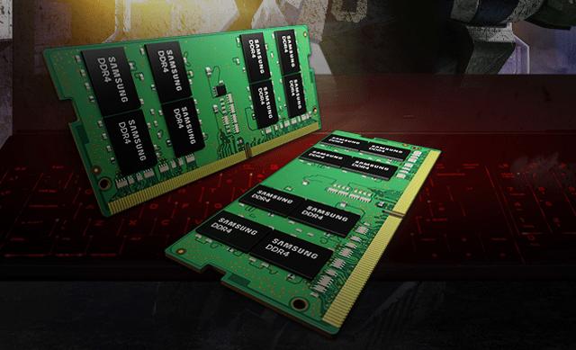 Samsung begint massaproductie 32GB-ddr4-geheugen voor