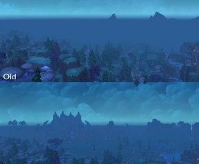 World of Warcraft draw distance