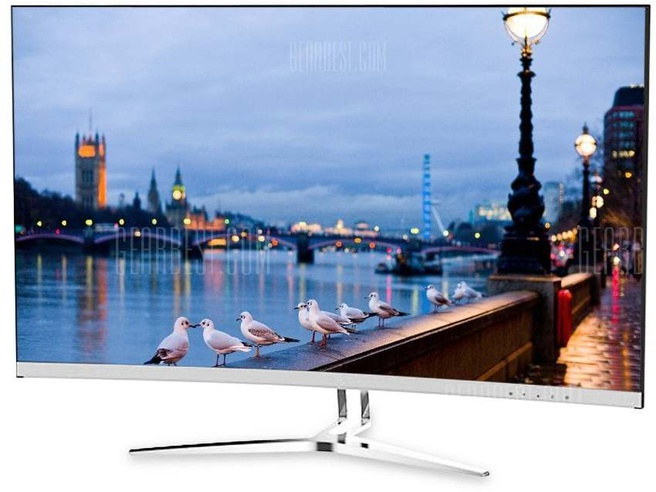 """TCL T32M6C 31.5"""" Curved LED monitor Chroom, Wit"""