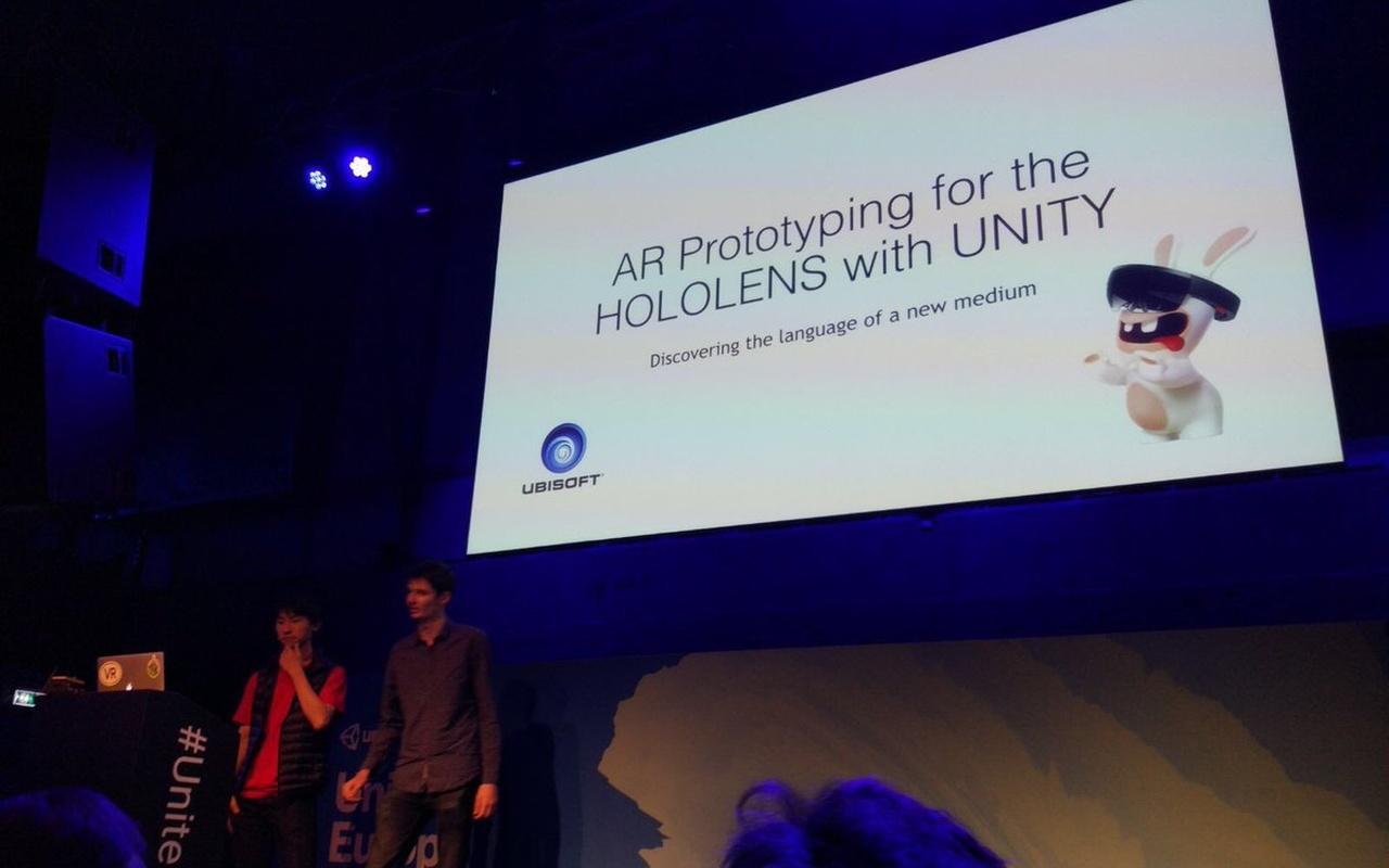 Ubisoft Hololens