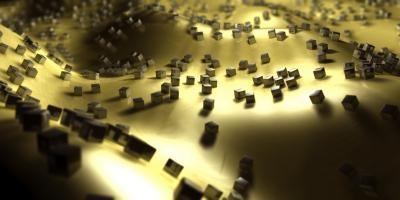 Zilveren nanokubussen
