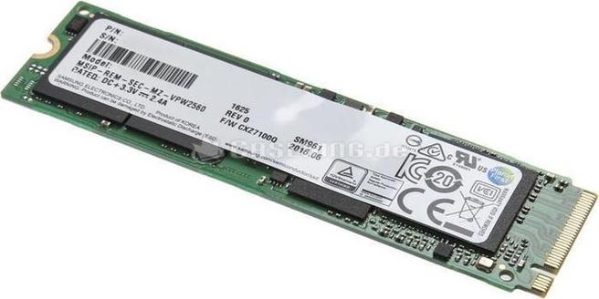 Samsung PM961 256GB