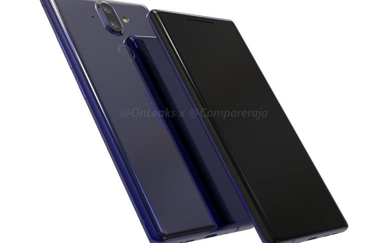 Renders van vermoedelijke Nokia 9