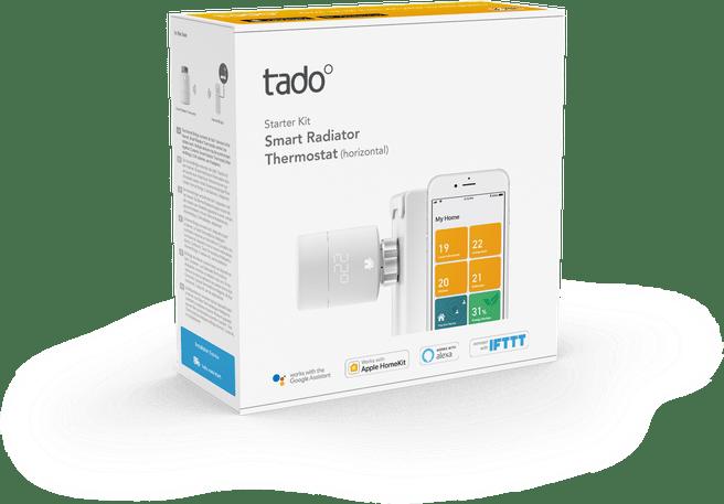 Tado Slimme Radiatorknop V3+ (Starterskit)