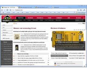 Google Chrome 5.0 screenshot (481 pix)