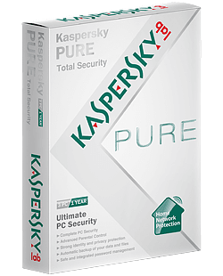 Kaspersky Pure 1 PC - 2 Jaar
