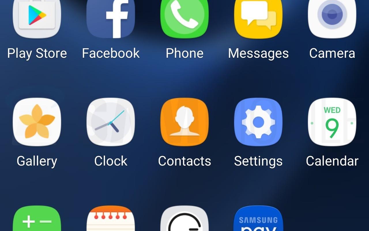 Testversie Android 7.0 op Samsung Galaxy S7 (screenshot: SamMobile)