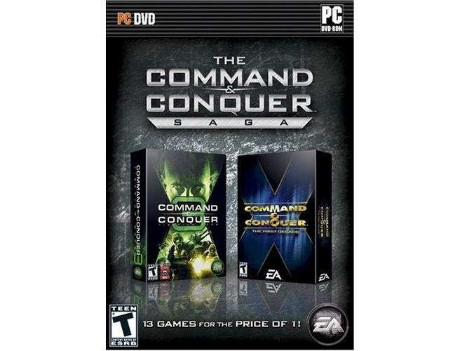 C&C, Saga  (DVD-Rom), PC
