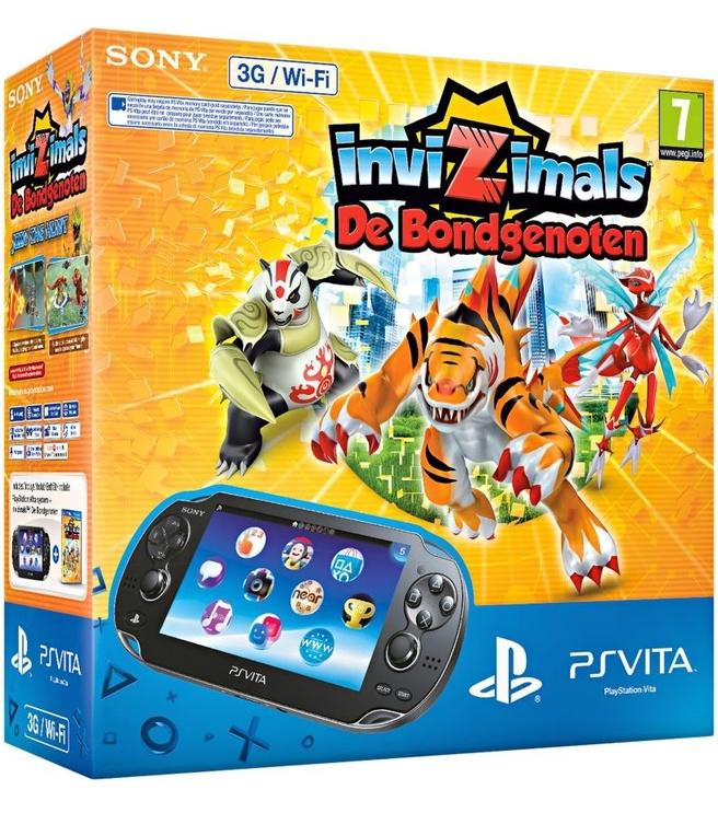 Sony PlayStation Vita 3G + Invizimals: De Bondgenoten Zwart