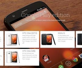 Samsung Galaxy S5 Google Play-editie