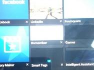 Screenshot BlackBerry Q30