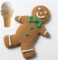 Gingerbread met Ice Cream