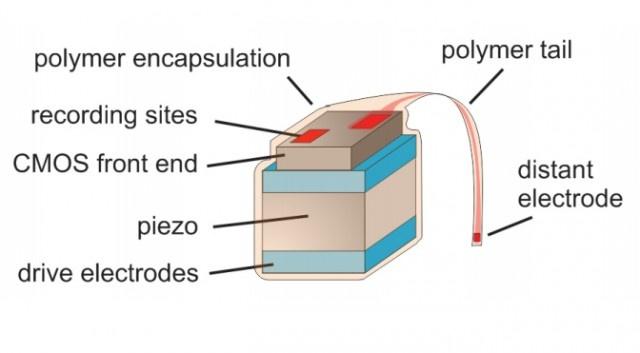 Micro-sensor voor hersenonderzoek