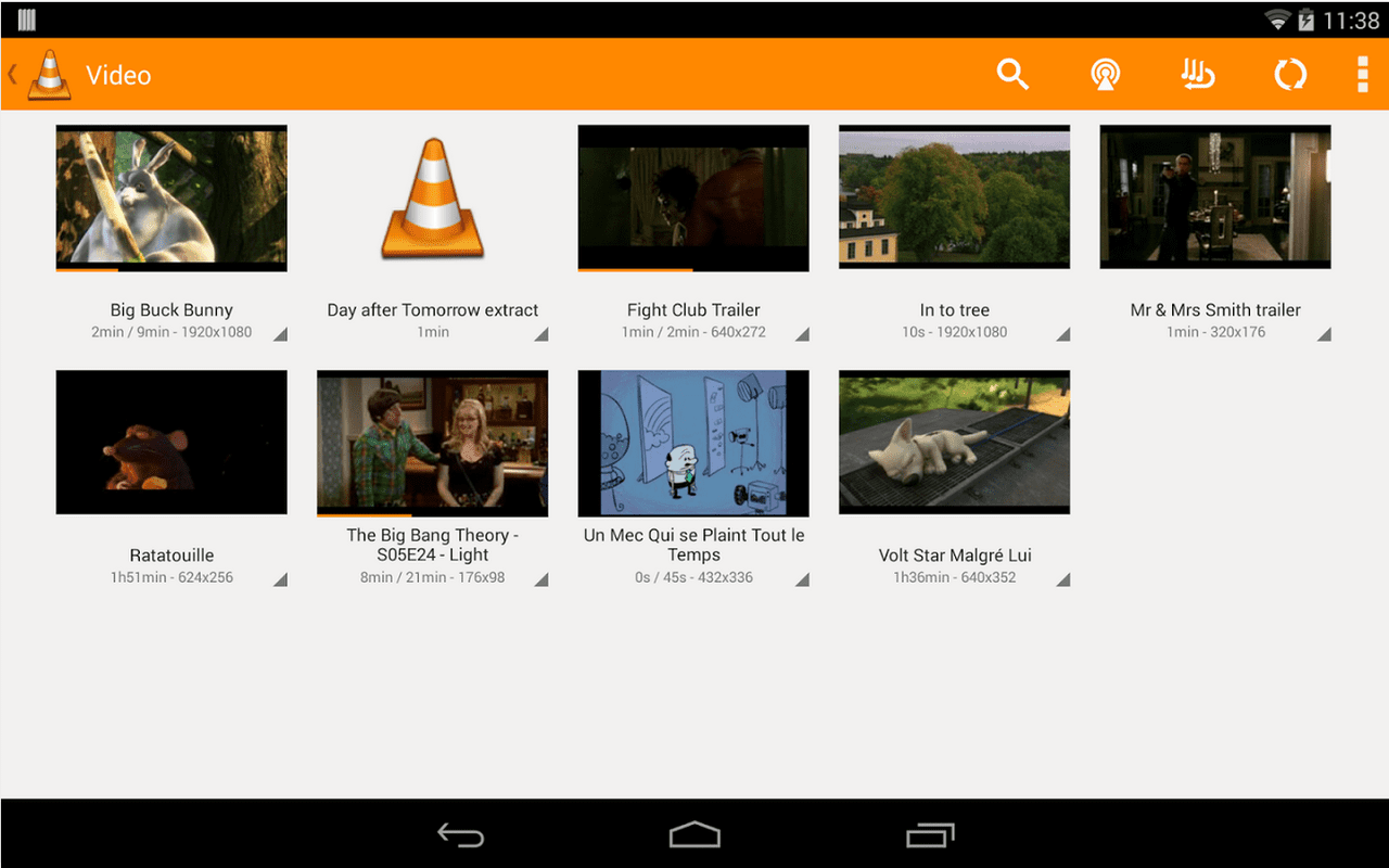 VLC voor Android