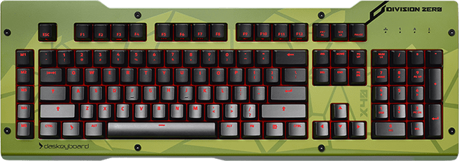 Das Keyboard Division Zero X40 Top Panel - Stryker - Olive