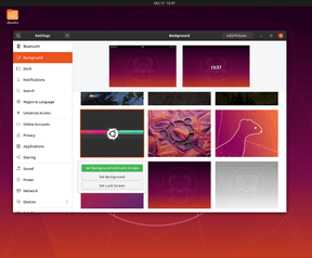 Ubuntu 19.10 settings
