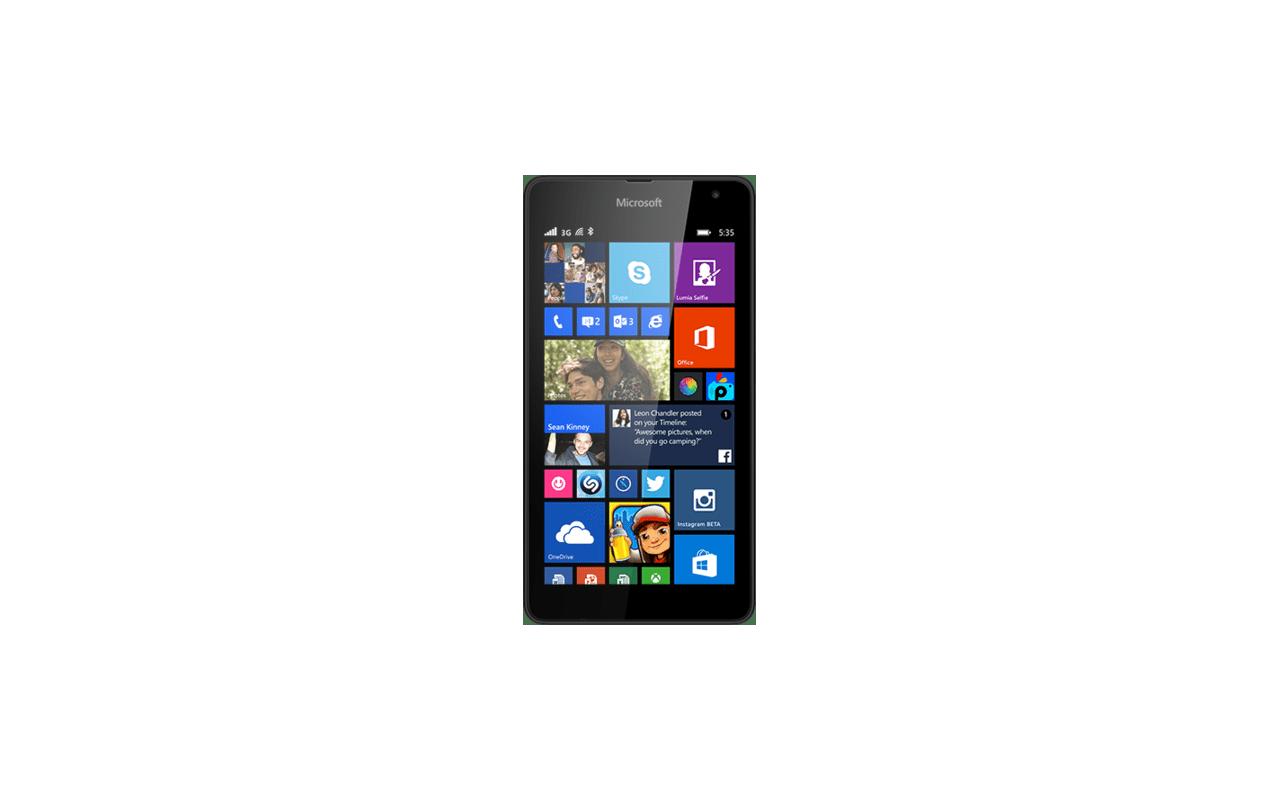 Microsoft Lumia 535 Zwart