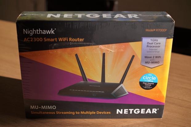 Netgear Router Nighthawk R7000P WiFi AC2300 - Lambo LP670 SV