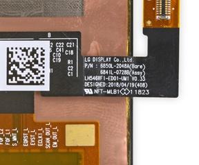 LG Display in Pixel 3
