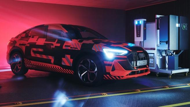 Audi bidrectional charging