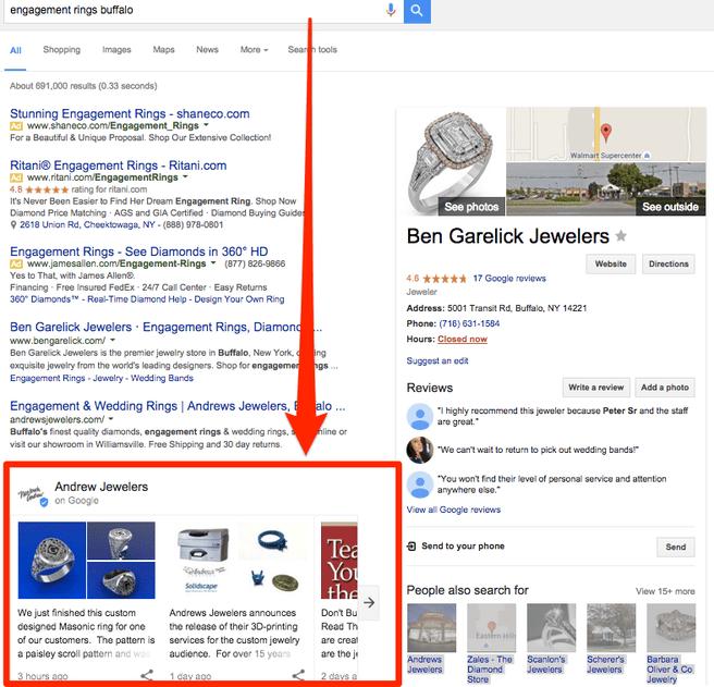 Google Posts test