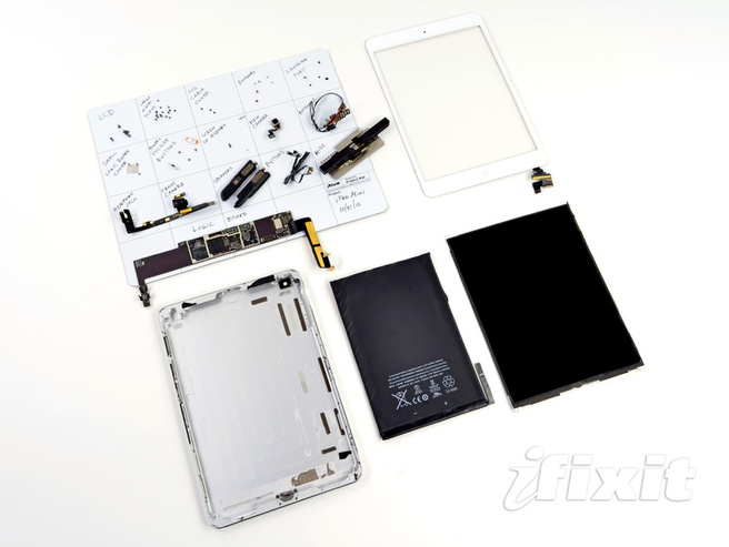 iPad mini (foto: iFixit)