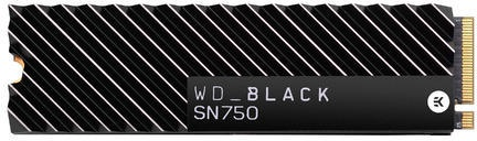 WD Black NVMe SSD SN750 (heatsink) 1TB