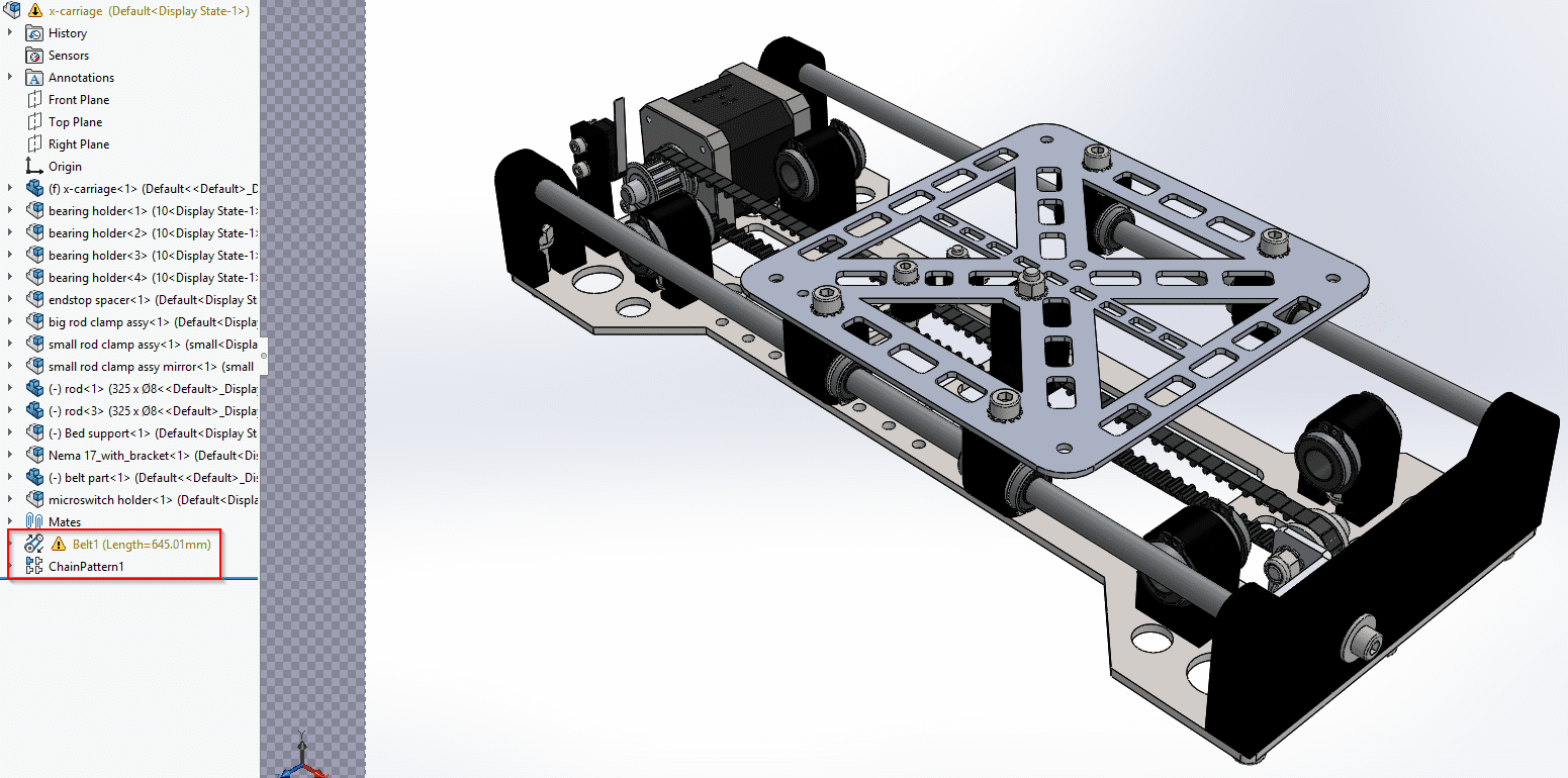 Solidworks screenshot 1