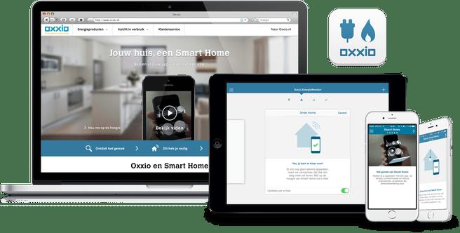 Oxxio App met Homekit