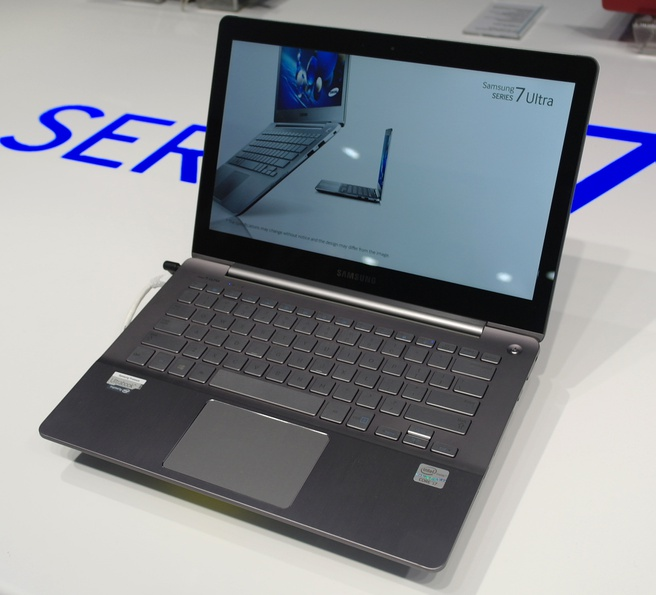 Samsung Series 7 Ultra CES 2013