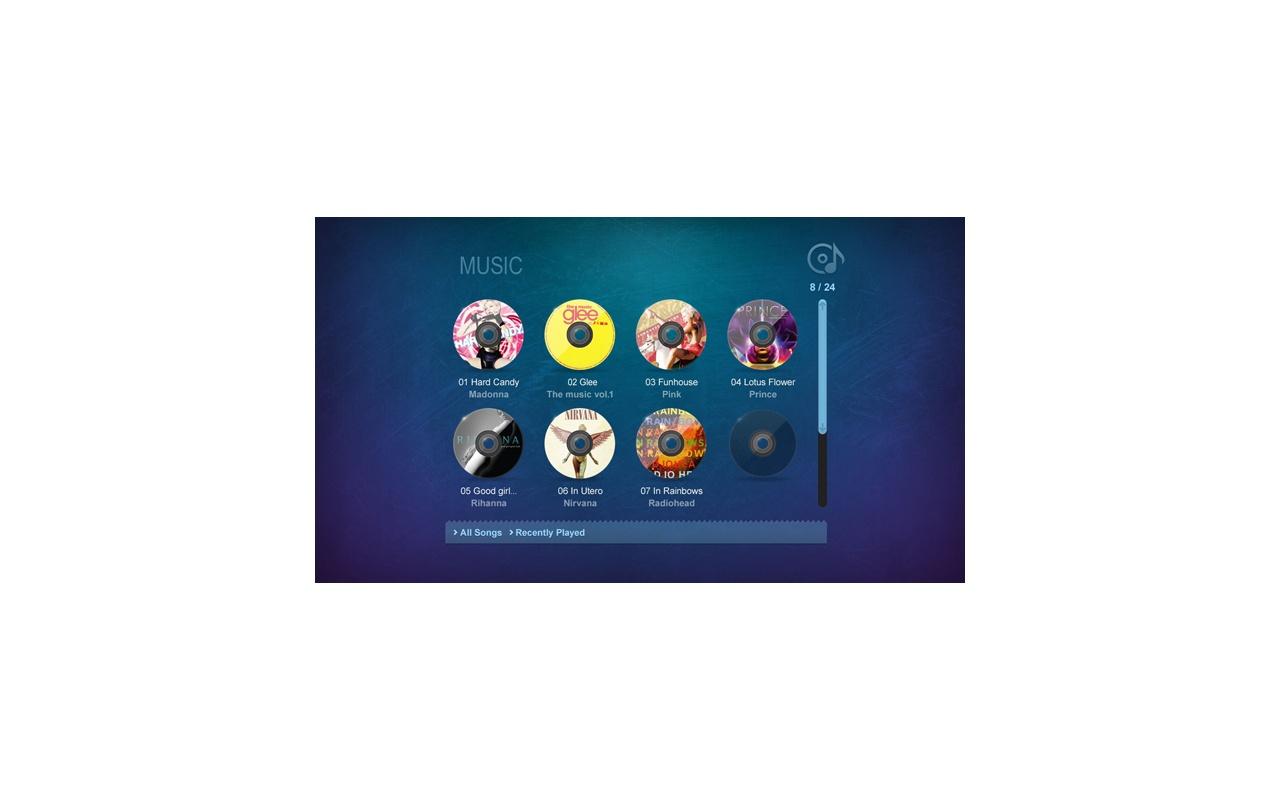 Eminent EM7180 hdMEDIA RT2 new GUI