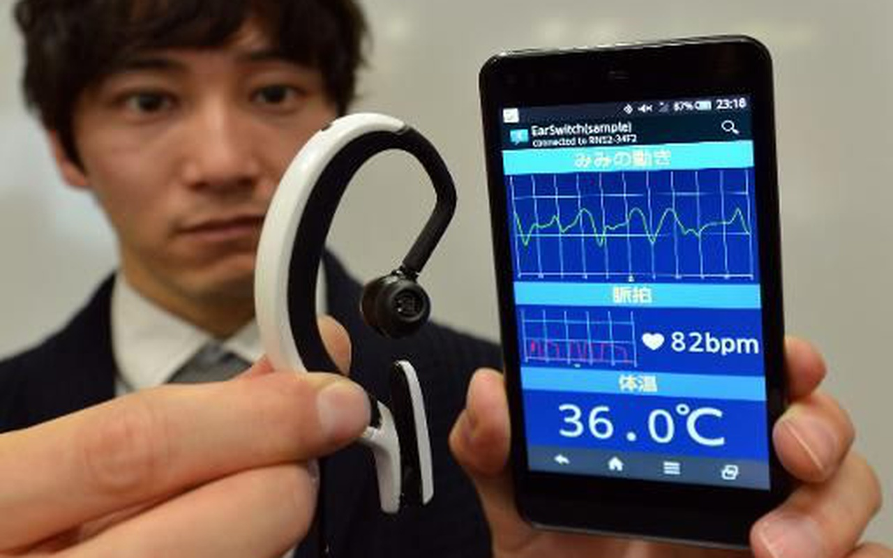 Earclip-type Wearable PC