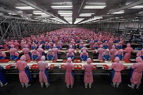 Chinese productielijn