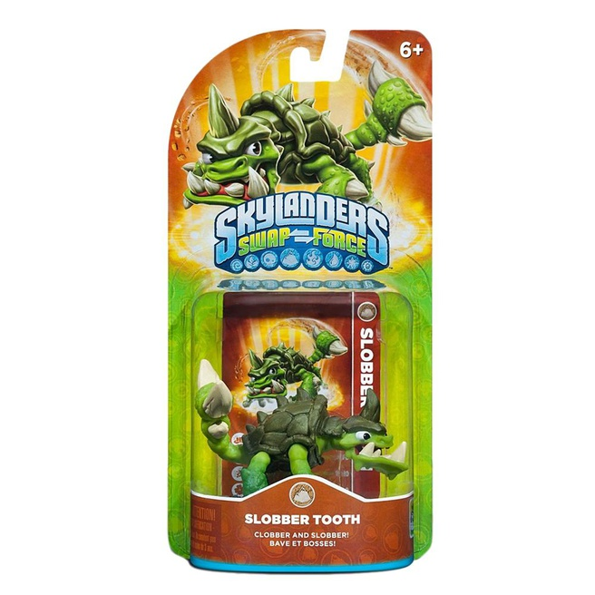 Skylanders Swap Force Slobber Tooth, Nintendo 3DS, PlayStation 3, PlayStation 4, Wii, Wii U, Xbox 360, Xbox One