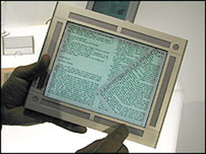 HP E-book prototype