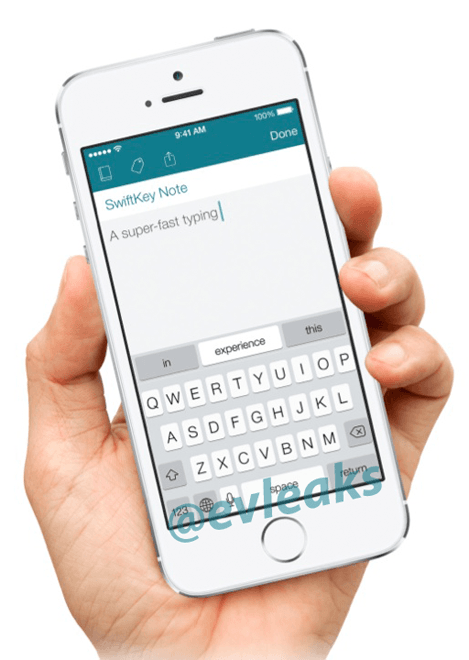 Swiftkey voor iOS