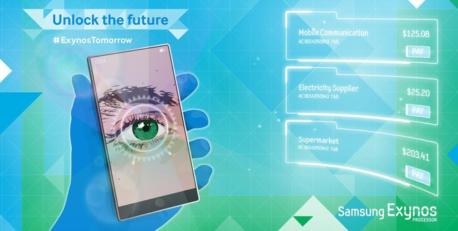 Hint van Samsung naar irisscanners