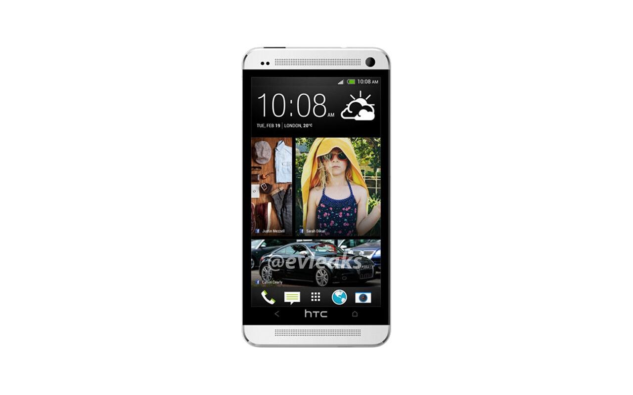 HTC One aka M7 (bron: Evleaks)