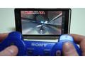 Sony Xperia met Dualshock 3-onder