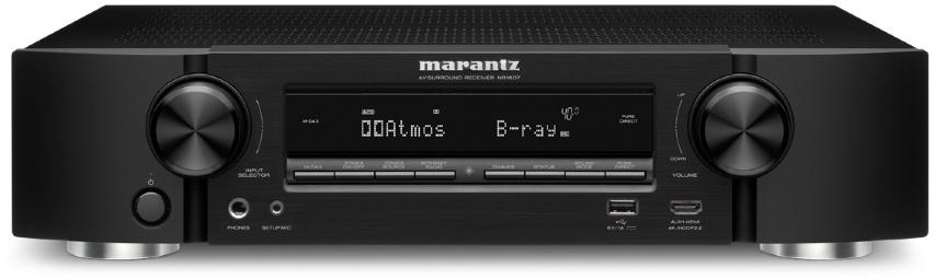 Marantz NR1607 Zwart - Specificaties - Tweakers