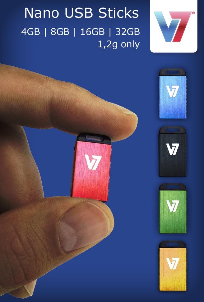 V7 Nano USB 2.0 32GB