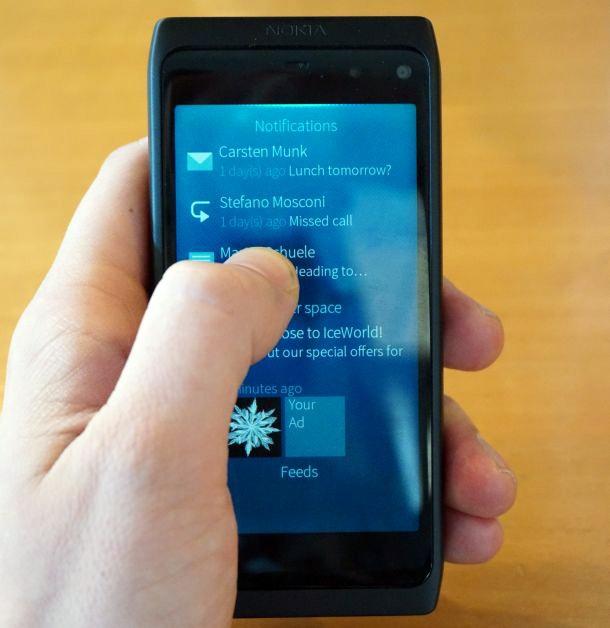 Sailfish op Nokia N950