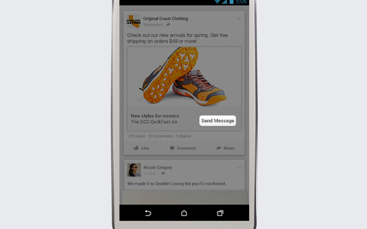 Facebook privéberichten voor bedrijven
