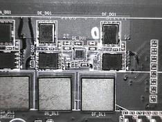 CPU VRM fases bovenzijde 2